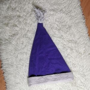 Purple Christmas hat
